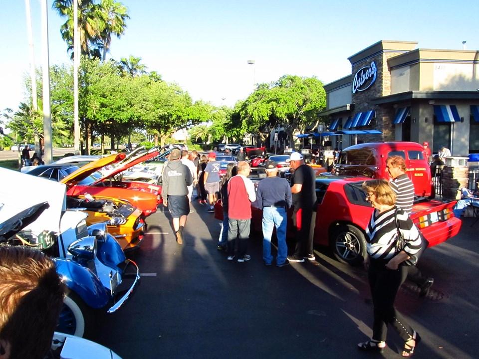 Culver's Friday Car Show, Tampa, FL